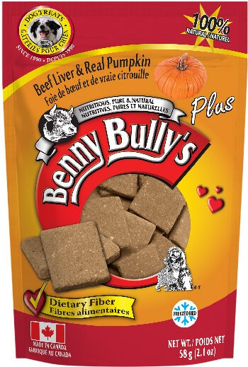 Benny Bullys® Liver Plus™ Pumpkin Dog Treats