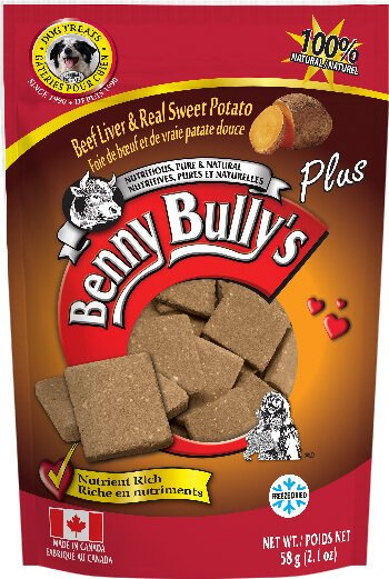 Benny Bullys® Liver Plus™ Sweet Potato - 58g