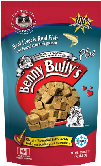 Benny Bullys® Plus Fish - Cat Treats