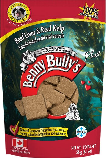 Benny Bullys® Liver Plus™ Kelp Dog Treats