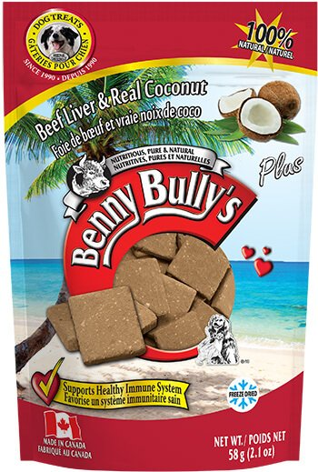Benny Bullys® Liver Plus™ Coconut - 58g
