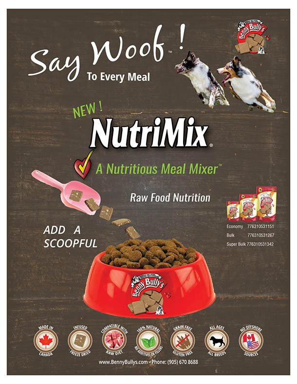 NEW Benny Bully's NutriMix Meal Mixer
